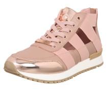 Sneaker 'Trinity' rosa / gold
