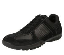 Sneaker mit robuster Laufsohle schwarz