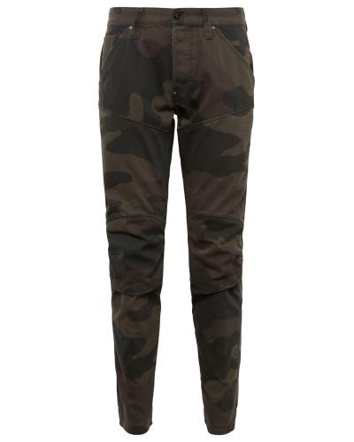 Jeans '5620 3D Tapered' black denim