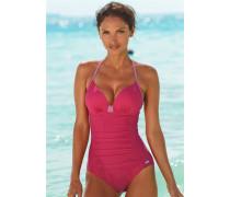 Bügel-Badeanzug pink