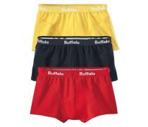 Packung: Boxer (3 Stck.) gelb / rot / schwarz