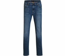 Gerade Jeans dunkelblau