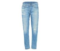 'Midge Saddle' Boyfriend Jeans blau