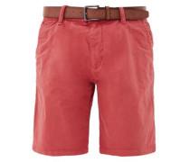 'Plek Loose' Shorts mit Gürtel pastellrot