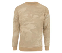 Sweater 'Camo Crewneck' sand