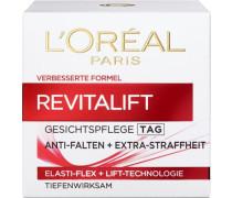 'RevitaLift Creme Tag' Gesichtspflege rot / weiß