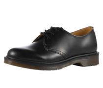 Leder-Halbschuhe '3 Eye Shoe Smooth' im Unisex-Look schwarz