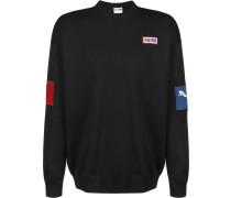 Sweater ' Colour Block Crew ' schwarz