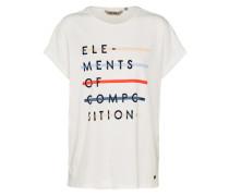 T-Shirt 'ladies' weiß