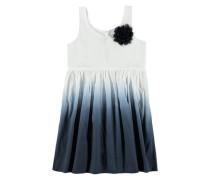 Kleid mit Farbverlauf blau / weiß