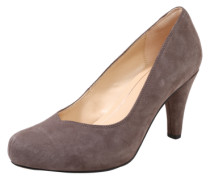 Pumps 'Dalia rose' aus Veloursleder taupe