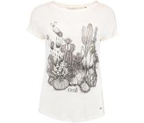 T-shirt 'LW Cali Nature' weiß / schwarz