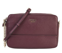 Crossbody Bag mit Zipper 'Devyn' bordeaux