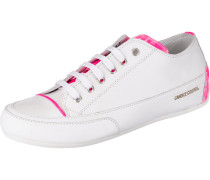 Sneakers Low dunkelpink / weiß