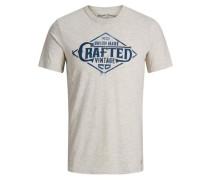 T-Shirt Lässiges weiß