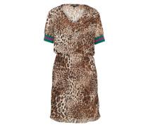 Kleid 'Olina' beige / braun
