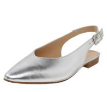 Riemchenballerina 'Marni Sling' silber