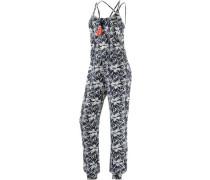 Jumpsuit Damen marine / weiß