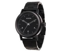Armbanduhr 'Stark' schwarz