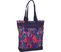 Shopper Tasche türkis / saphir / petrol / violettblau / cyclam / dunkellila / orange / neonpink