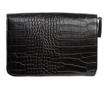 Kunstleder-Tasche schwarz