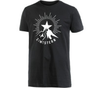 Zimtstern TSM Starrise Printshirt Herren schwarz