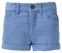 Jeansshorts für Mädchen UV-Schutz 30+ blau / blue denim / hellblau