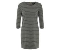 Jerseykleid 'VITinny' grau / schwarz