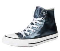 Sneaker 'Chuck Taylor All Star Metallic Hi' himmelblau / silber
