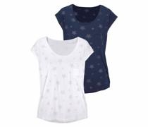 T-Shirts (2 Stück) navy