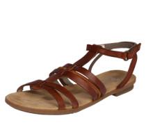 Römer-Sandale mit Riemchen braun