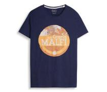 T-shirt 'sing jer aw ss' navy / orange