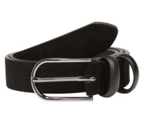 Gürtel 'Pjcady suede jeans belt' schwarz