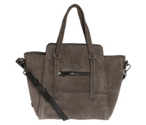 Handtasche 'Luxury Attachment' grau