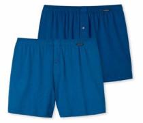 Webboxer (2 Stück) blau