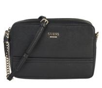Crossbody Bag mit Zipper 'Devyn' schwarz