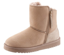 -Boots beige