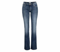 Bootcut-Jeans '322 Bootcut' blue denim
