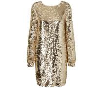 Partykleid Detailliertes gold