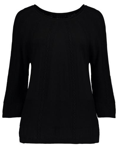 Pullover im schlichten Design schwarz