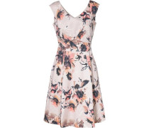 Kleid anthrazit / rosa / weiß