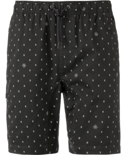 Shorts 'Altona' hellgrau / schwarz