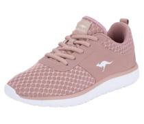 Sneaker von rosa