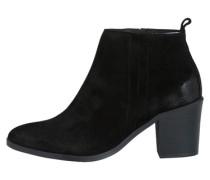 Wildleder-Stiefel schwarz