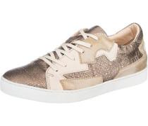 Sneakers beige / bronze / gold
