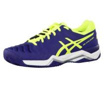 Tennisschuhe Gel-Challenger 11 Clay E704Y-4907 blau / gelb / violettblau