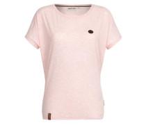 Female T-Shirt Schnella Baustella pink