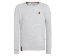 Male Sweatshirt 'Until the Pain Starts VI' graumeliert