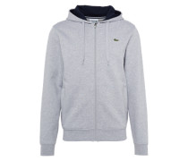 Sweatshirt marine / grau