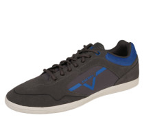 Sneaker Low 'Happy hours' blau / grau